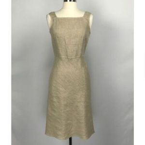 Valentino Linen Fit Flare Dress 414-44-91918